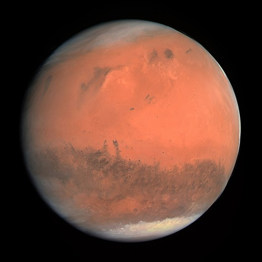 Mars is the next planet out from Earth—the fourth from the Sun—and an increasingly likely destination for human explorers in the not-too-distant-future.