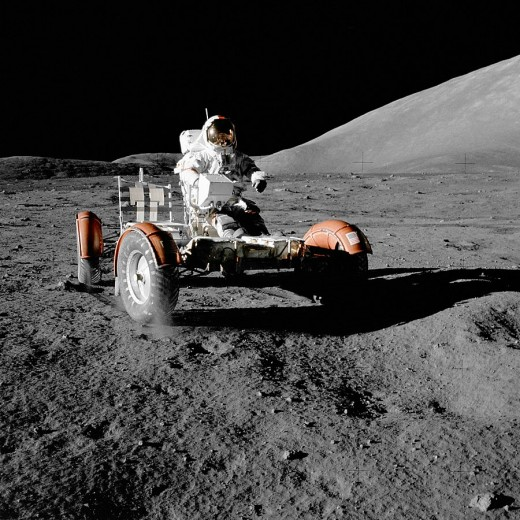 The Apollo 17 Moon landing in 1972 was the last time a human being has set foot on any celestial body.