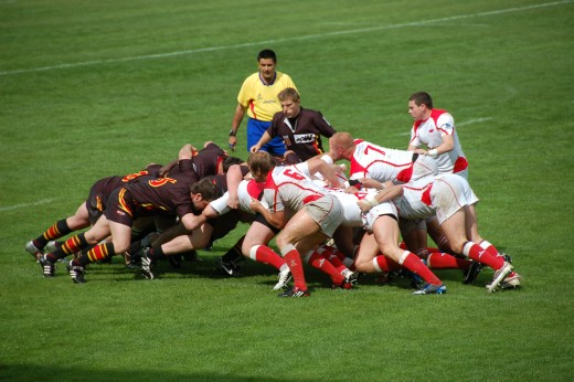 Poland vs. Belgium in 2009 - rugby union is an increasingly global game.