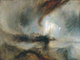 Turner painted the Crossing of the Alps by Hannible