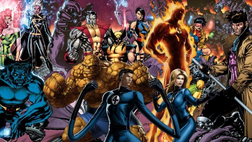 The Fantastic Four and X-men: Examples of Mutates and Mutants