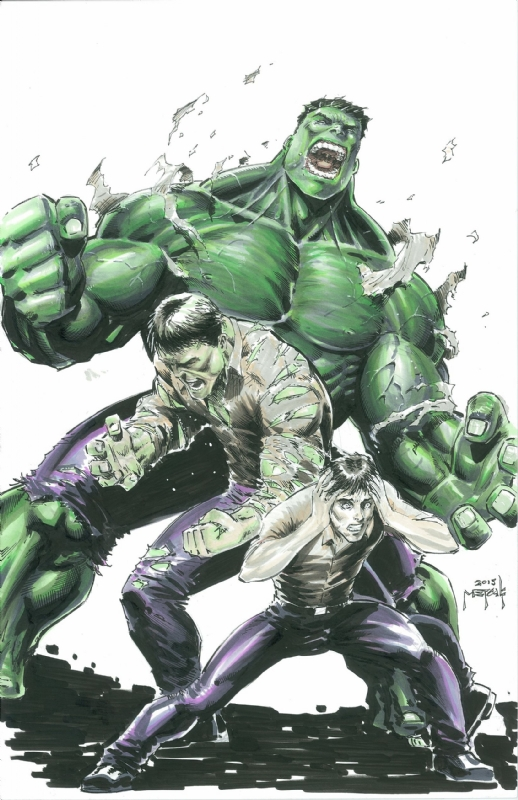 The Hulk's mutation is an unstable one that adds eight hundred pounds of bone and muscle  from an extradimensional source while regressing his intelligence and emotional control