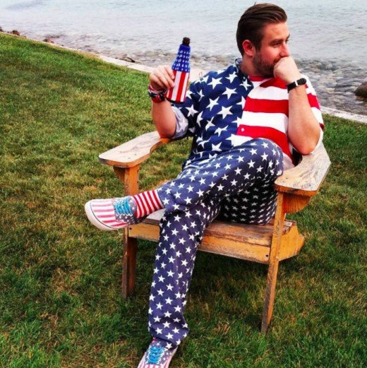 Seth Rich described a a Patriot.