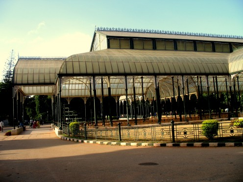 The Glass House at Lalbagh.