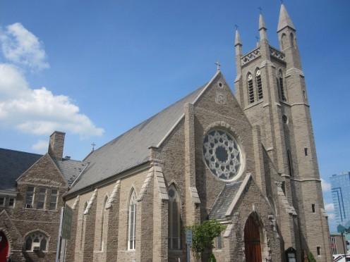 St. Peter's Episcopal Church in Niagara Falls, NY