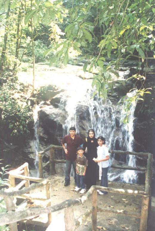 Hot, hazy, humid, but beautiful waterfalls.
