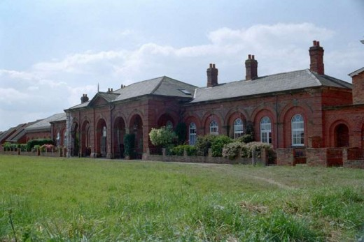 Now privately owned, the G T Andrews designed Hornsea Station is no longer a railway terminus since the early 1960s. Nevertheless it is a handome Italianate late Georgian building