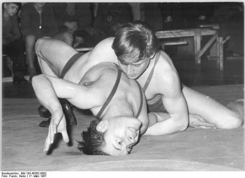 (Even more) Wresting in 1957.