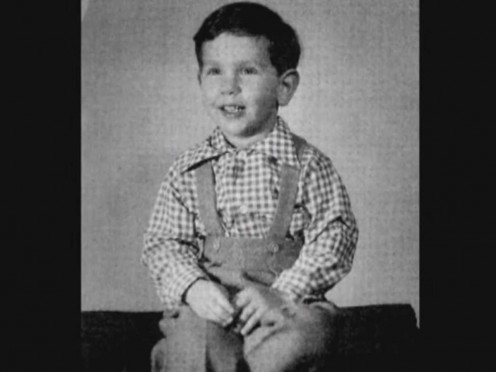Child Photo of Larry Ellison
