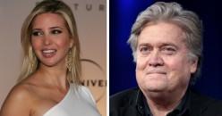 Steve Bannon Calls Ivanka Trump