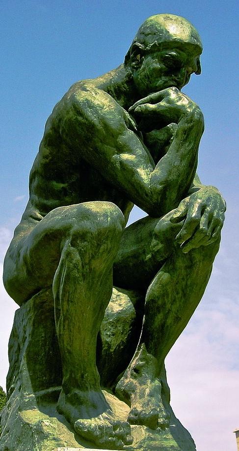 The Thinker - Rodin Museum, Paris