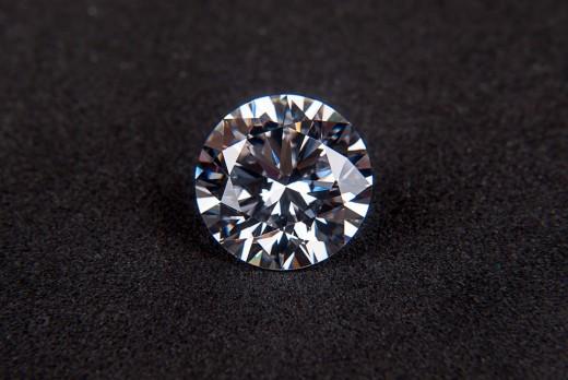A fully cut diamond