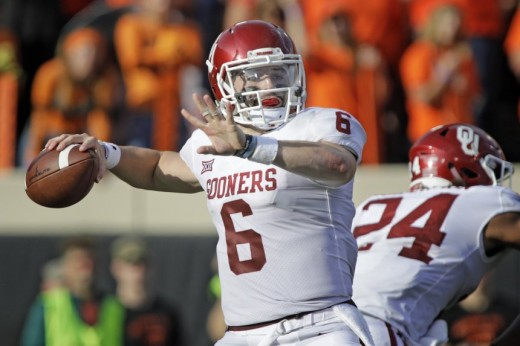 Baker Mayfield closes in on the Heisman Trophy with 598 passing yards and six total touchdowns
