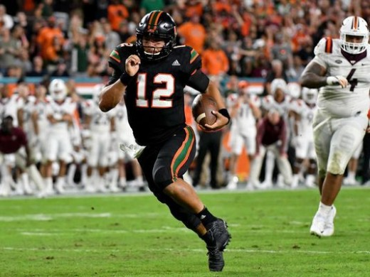 The Miami Hurricanes topped No. 13 Virginia Tech 28-10 in most impressive win of the season