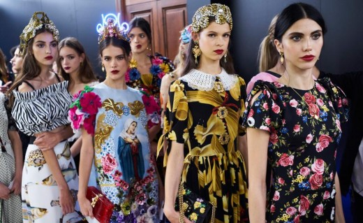 Dolce & Gabbana 2017 Backstage Top Fashion Designers