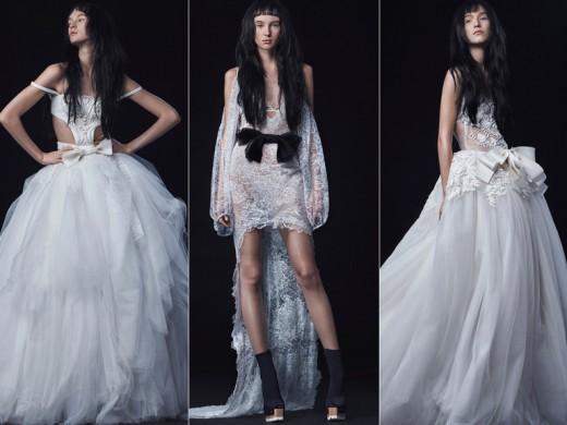 Vera Wang Fall 2016 Wedding Top Fashion Designers