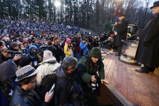 Attendance at the Punxsatawney Groundhog Day festivities has grown immensely in recent years
