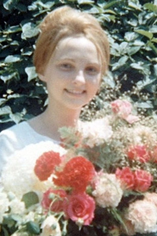 Reet Jurvetson at 16 years old.