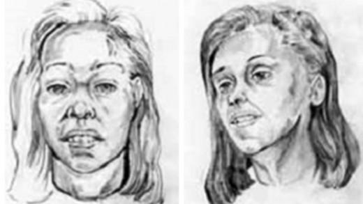 A composite sketch of Jane Doe 59.
