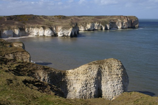 Selwicks Bay, Flamborough Head resembles worn old gravestones, don't you think?