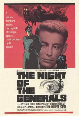 Night of the Generals movie poster.