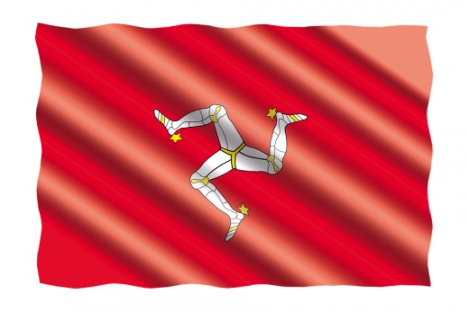 Isle of Man's flag