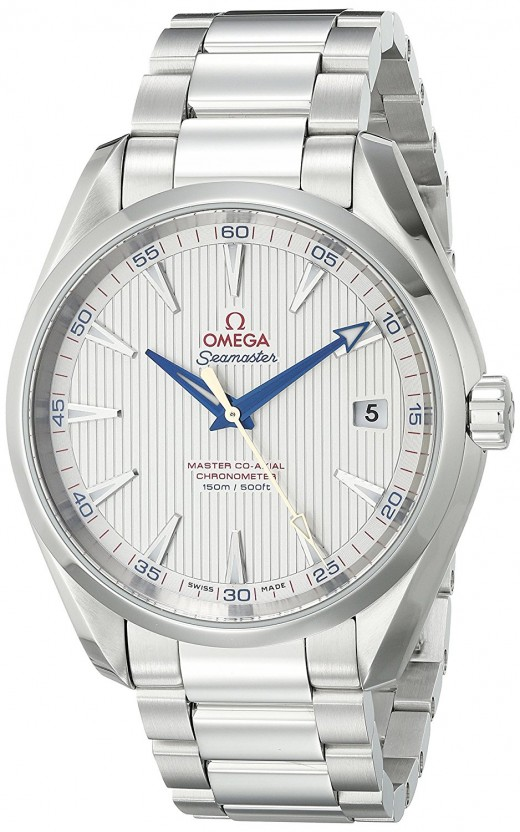 Omega Seamaster - read more below. (Image from Amazon).