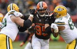 #1 pick Myles Garrett rookie season ends promising with 7 sacks in 11 games on a winless Browns Team