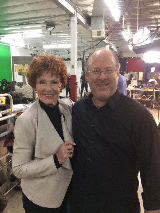 "Me and Mrs. C. With ""Happy Days'"" Marion Ross."