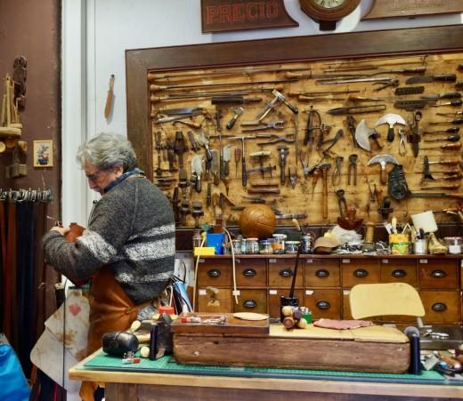 The Artisan at Work