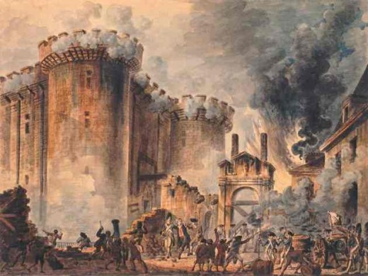 The Storming of Bastille.