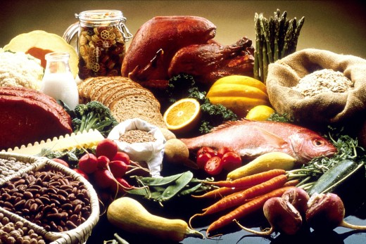 Eat a variety of vegetables with fish and other lean meats.