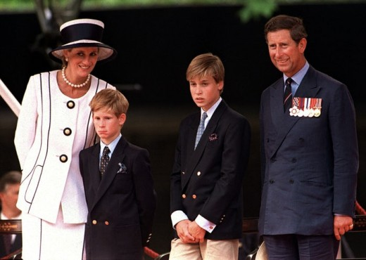 Prince William's great haircut in 1994.