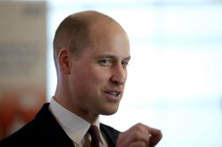 Prince William Shows Off Shaved Head
