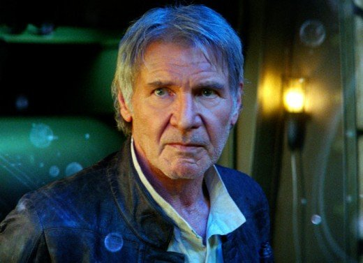"""Harrison Ford as Han Solo, from 2015's """"The Force Awakens."""""""