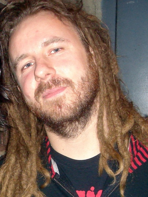 "Anders Friden seen here after the event called ""Gigantour"" in New York City in 2008."