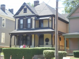 House in which Dr. Martin Luther King was born, Auburn, Atlanta, Georgia