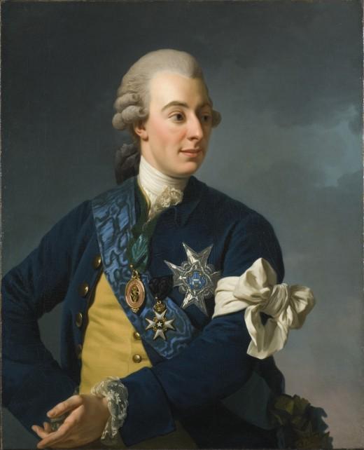 Gustav III in 1772