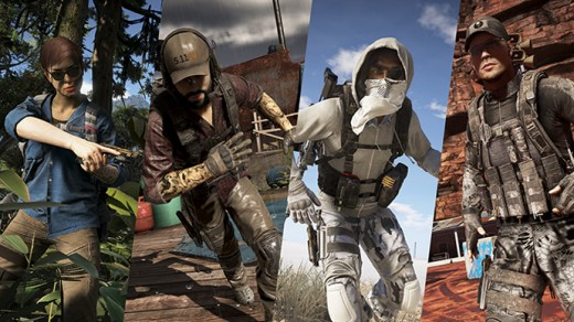 Character customization in Ghost Recon: Wildlands.