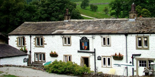 The George Inn at Hubberholme, a welcome sight for those returning from a rigorous walk