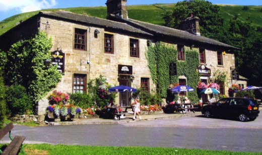 The Buck Inn, Buckden - in case you missed your chance for a warming hot toddy, drop in here on the way