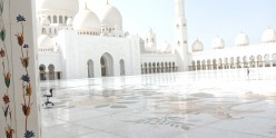 The Grand Mosque in Abu Dhabi Is an Architectural Delight