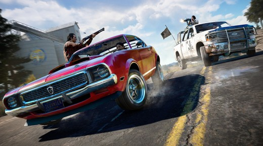 Far Cry 5 will feature an array of new guns and vehicles