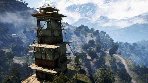 Bell Towers and Radio Towers served the same purpose of revealing the map in Far Cry 3 and in Far Cry 4.