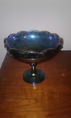 Collecting 1920's Carnival Glass Bowls