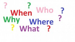 Wh Questions - Who, What, When, Where and Why?