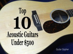 10 Best Acoustic Guitars Under $500