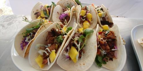 September Farm Wedding Taco Appetizers