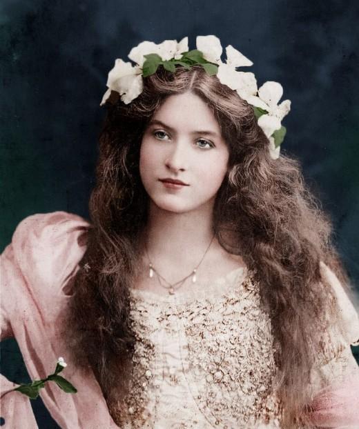 19th Century photo girl