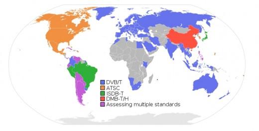 Digital Television Broadcasting Standards